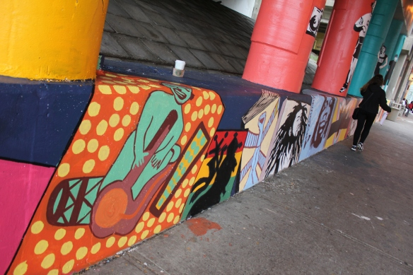 Yorkdale Art Starts Mural