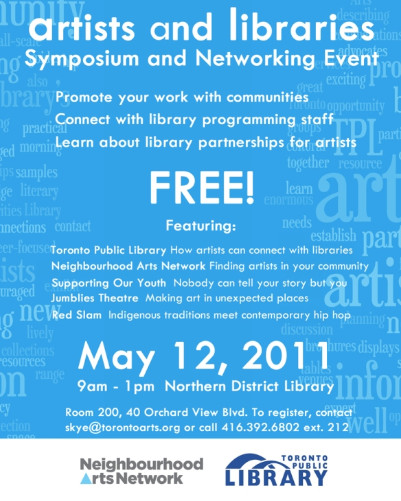 Artists and Libraries Symposium