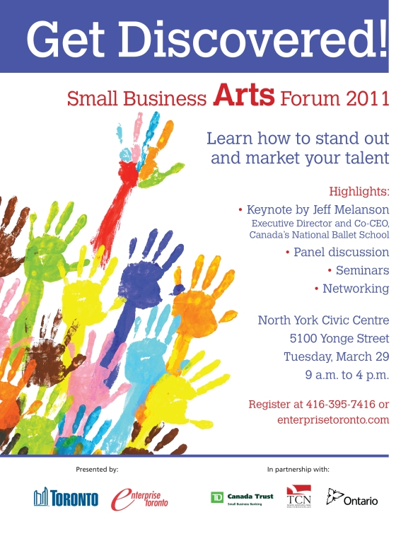 Arts Forum Flyer