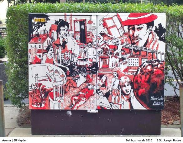 Bell-Box Mural - Asuma