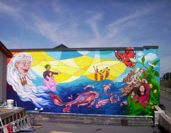Monarch Mural