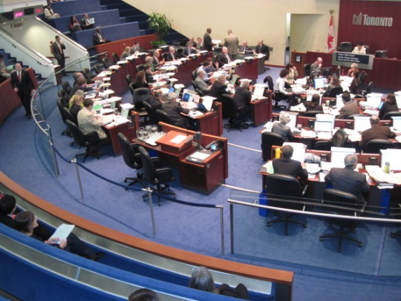 City of Toronto Committee Meeting