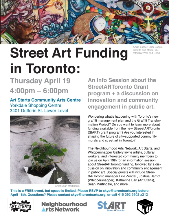 Street Art Funding Flyer