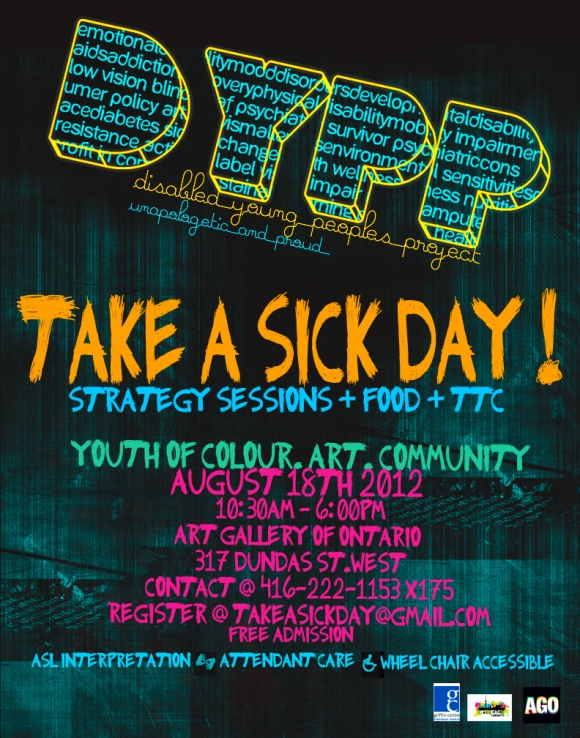Take a Sick Day! Flyer